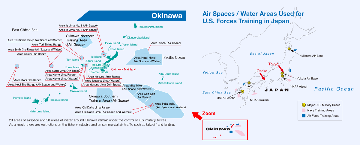 Marine Base In Japan Map.Base Related Data Okinawa Prefectural Government Washington D C