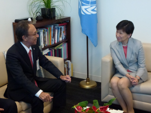 Ms. Izumi Nakamitsu, Under-Secretary-General of the United Nations