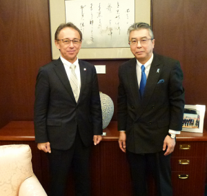 Mr. Shinsuke Sugiyama, Ambassador of Japan to the United States of America